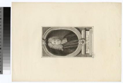 Portrait of Revd Dr R. Moss