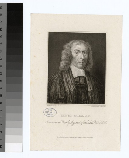 Portrait of Revd Dr H. More