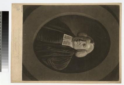 Portrait of Revd R. Myddelton
