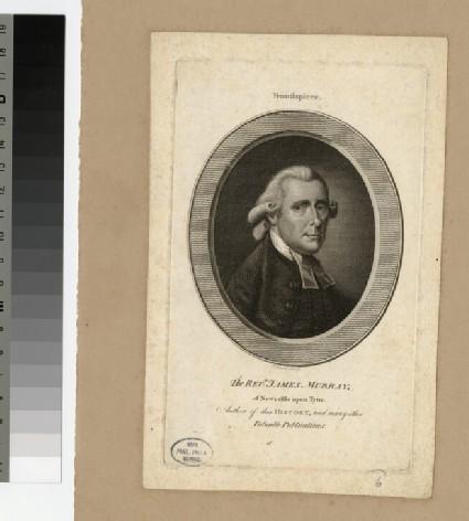 Portrait of Revd J. Murray