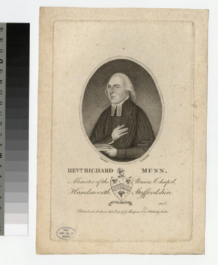 Portrait of R. Munn