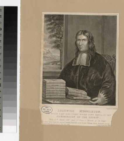 Portrait of L. Muggleton