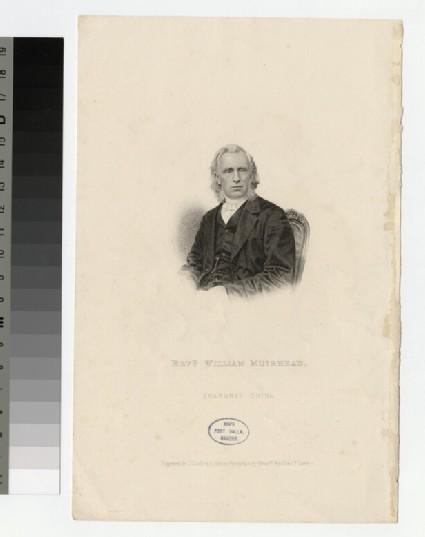 Portrait of W. Muirhead