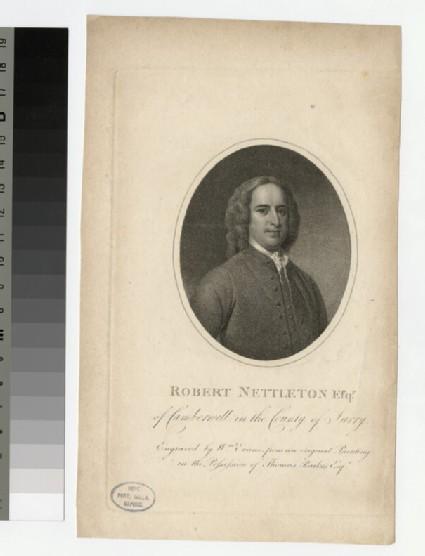 Portrait of R. Nettleton