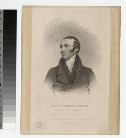 Portrait of R. Newton