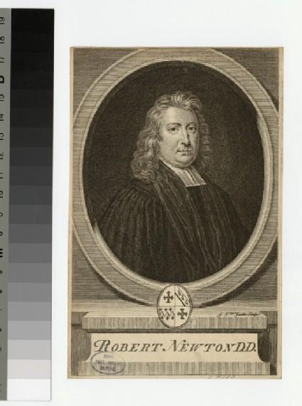 Portrait of Revd Dr Newton