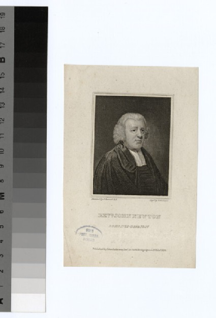 Portrait of J. Newton