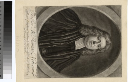 Portrait of Revd T. Newcomb