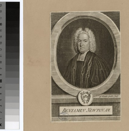 Portrait of Revd B. Newton