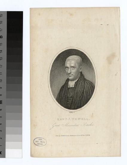Portrait of Revd J. Newell