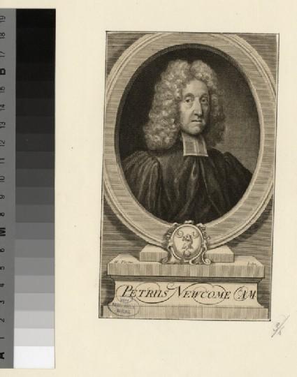 Portrait of P. Newcome
