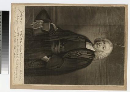 Portrait of Revd Dr J. Nicoll