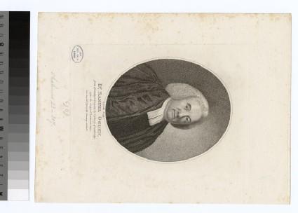 Portrait of Revd Dr Samuel Ogden
