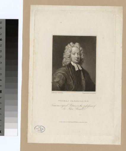 Portrait of Revd Dr T. Parnell