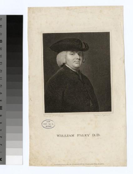 Portrait of Revd Dr W. Paley