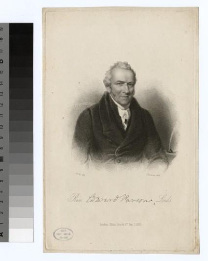 Portrait of E. Parsons
