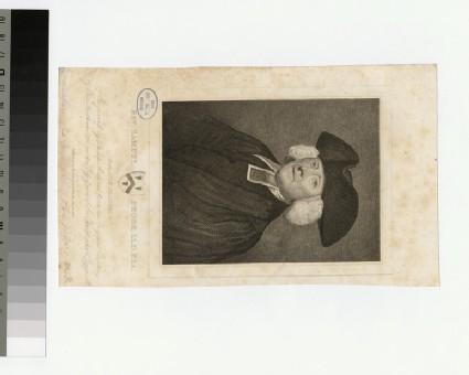 Portrait of Revd S. Pegge
