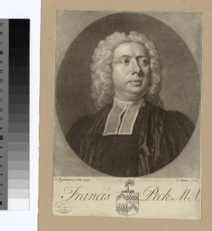 Portrait of Revd F. Peck
