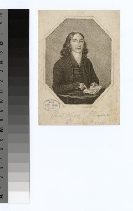 Portrait of S. Pearce