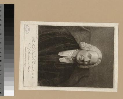 Portrait of Revd V. Perronet