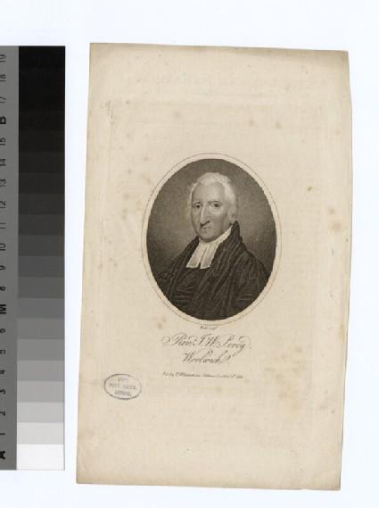 Portrait of J. W. Percy