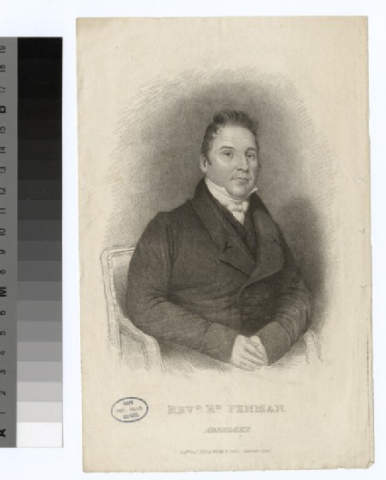 Portrait of R. Penman