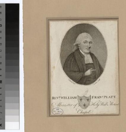 Portrait of Revd William Francis Platt