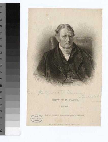 Portrait of W. F. Platt