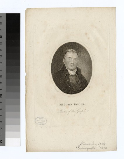 Portrait of J. Poole