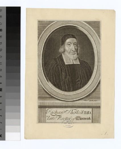 Portrait of Revd Dr R. Sherlock
