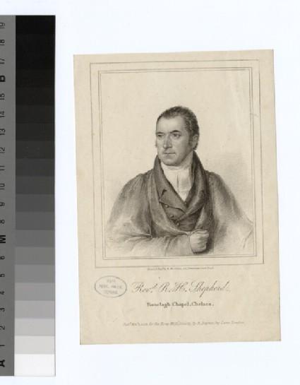 Portrait of R. H. Shepherd