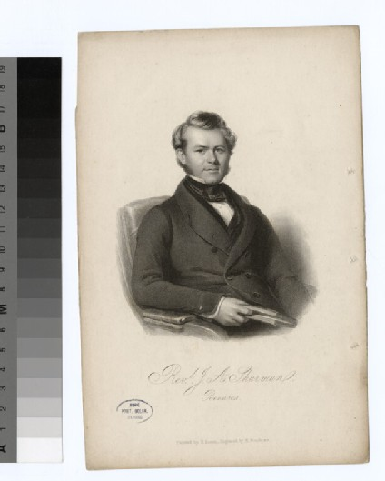 Portrait of J. A. Shurman