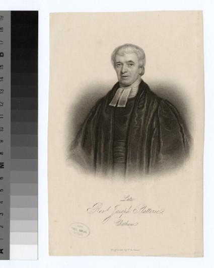 Portrait of J. Slatterie