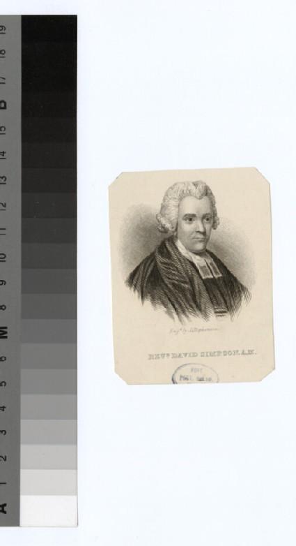Portrait of D. Simpson