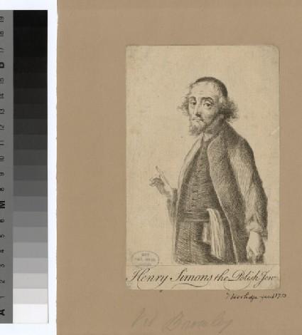 Portrait of H. Simons