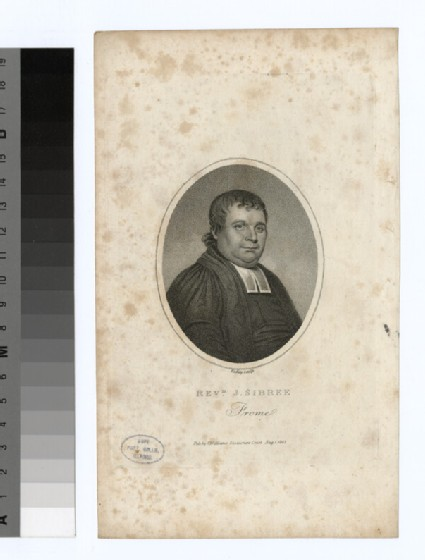 Portrait of J. Sibree
