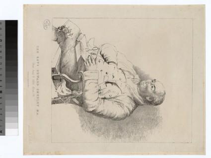 Portrait of Revd E. Smedley