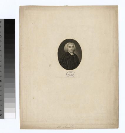 Portrait of Revd Dr W. Smith