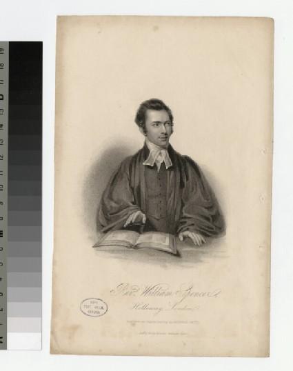Portrait of W. Spencer