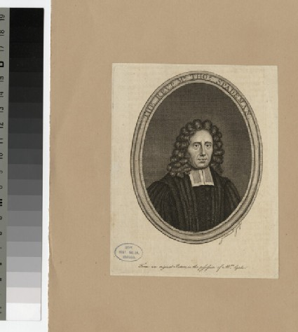 Portrait of T. Spademan