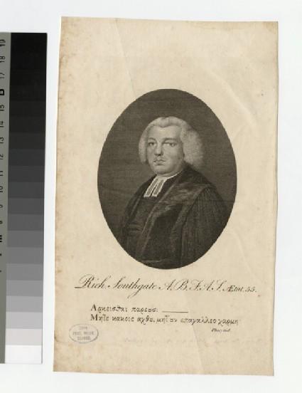Portrait of R. Southgate