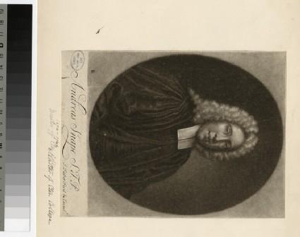 Portrait of Revd Dr A. Snape