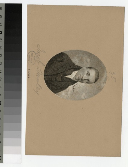 Portrait of J. Stanley