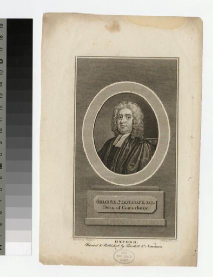 Portrait of Revd Dr George Stanhope