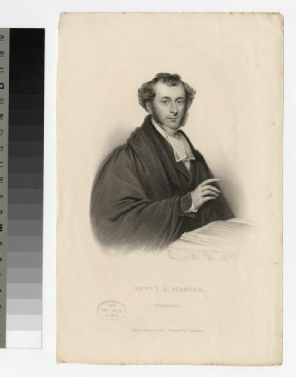 Portrait of T. G. Stamper