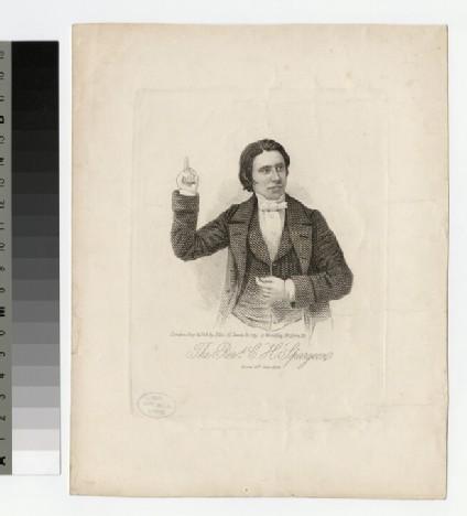 Portrait of C. H. Spurgeon