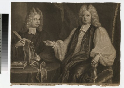 Portrait of Bishops T. and R. Sprat