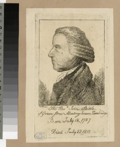 Portrait of J. Stittle