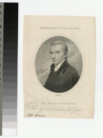 Portrait of J. Stevens