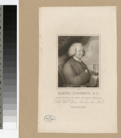 Portrait of S. Stennett